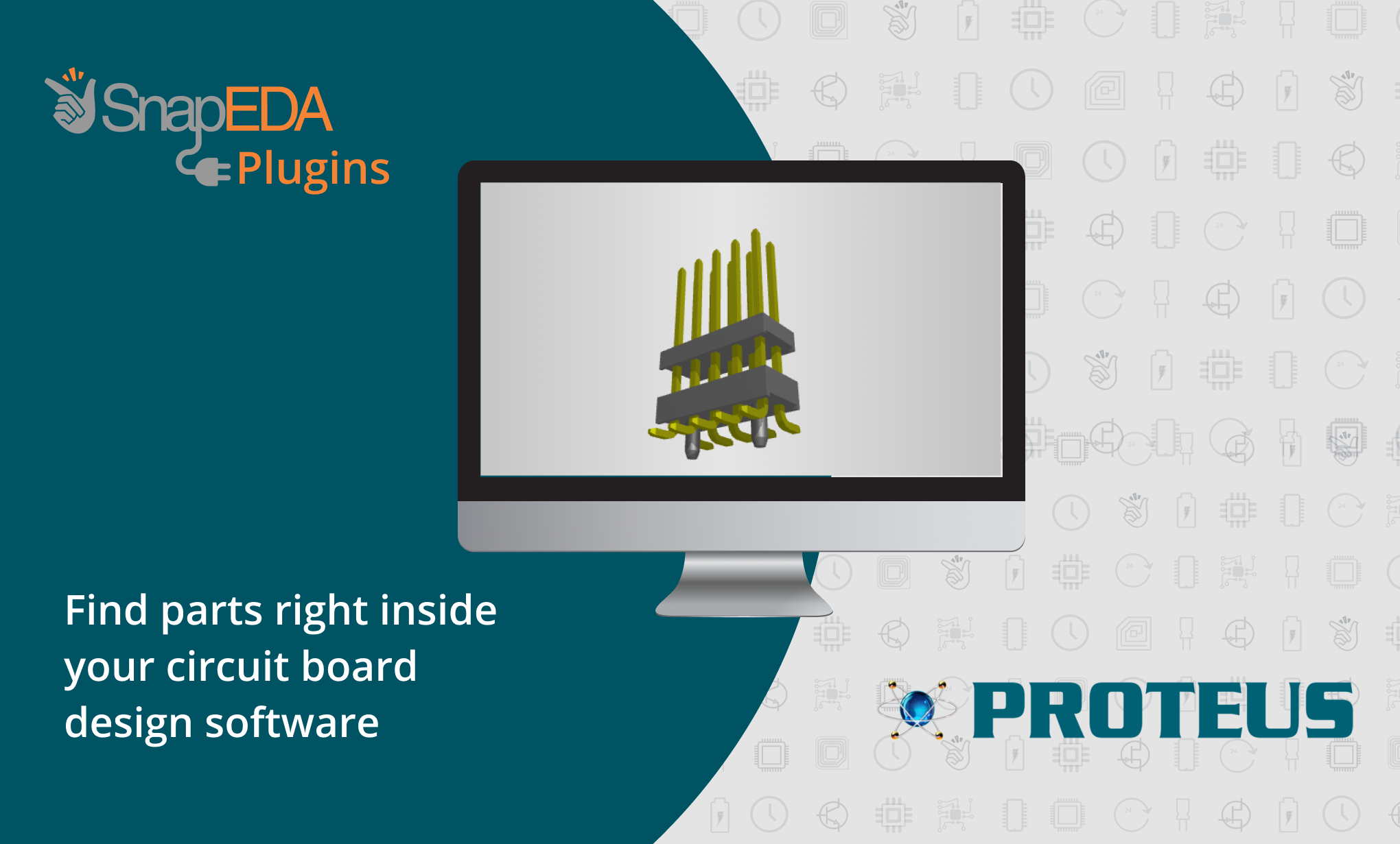 Proteus Adds SnapEDA CAD Model Search to Boost Electronics Design Productivity