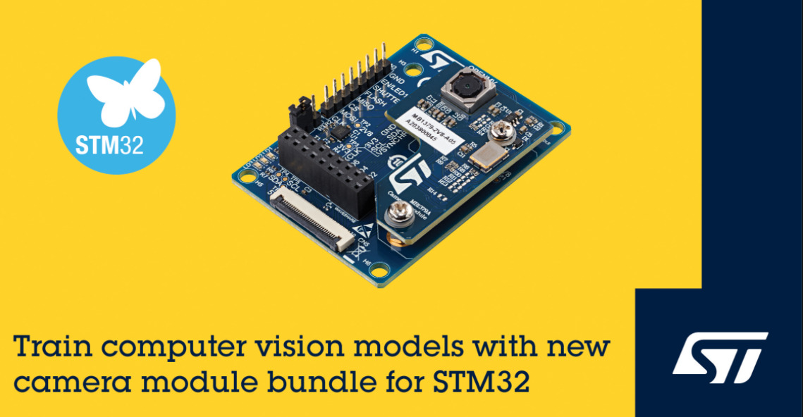 ST's FP-AI-VISION1 for Edge Computer Vision Applications