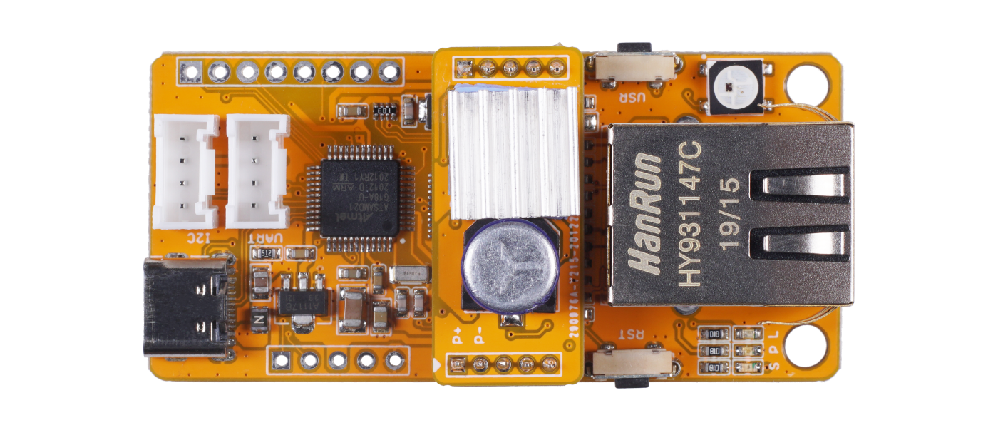 Squama Ethernet Board with PoE support
