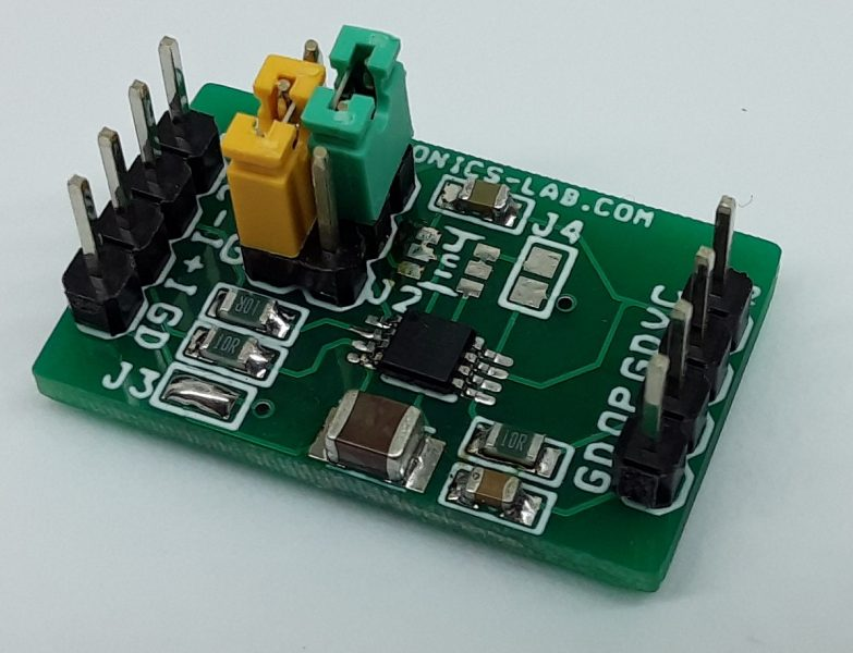 +/-10V (Dual 10V) to Single-Supply Signal Converter for ADC