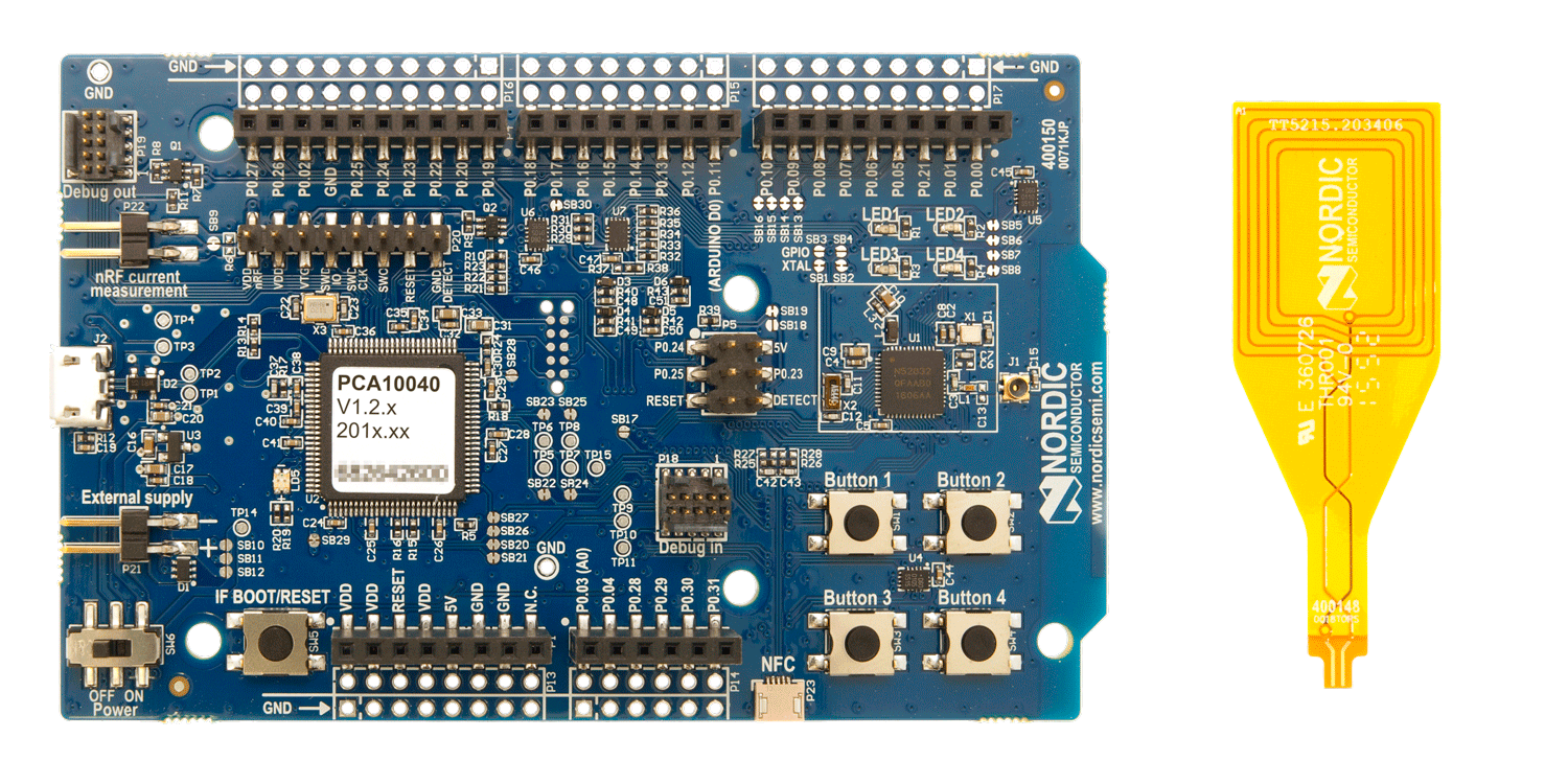 Enter to win 1 of 5 nRF52 DK Nordic Semiconductor Development Kits