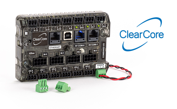 ClearCore: a new, $99 4-Axis Motion and I/O Controller