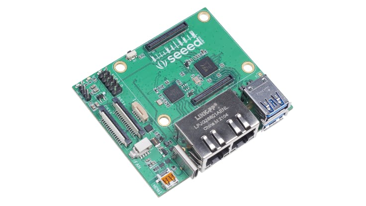 Seeed Studio's Dual Gigabit Ethernet Carrier Board Brings The CM4 To Router Projects