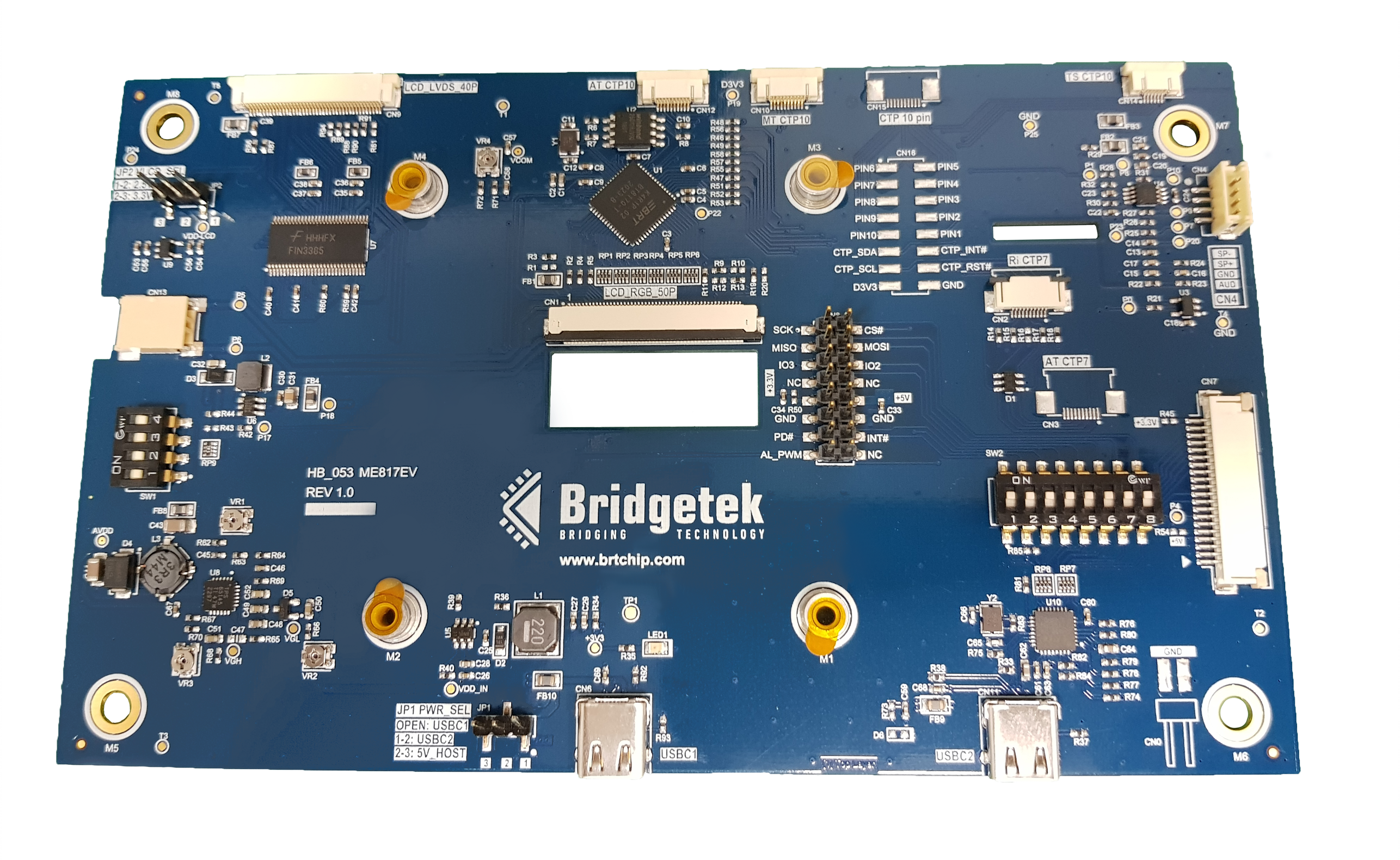 Bridgetek Introduces New Evaluation Hardware for Advanced EVE Graphic Controllers