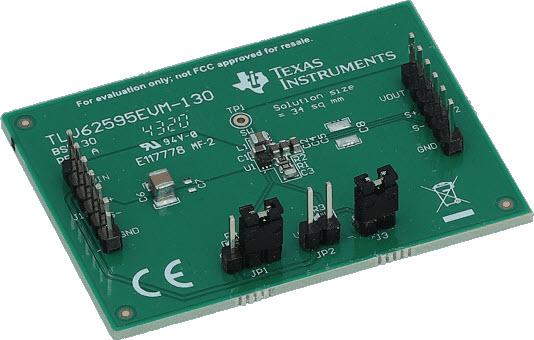 TLV62595 2.5 V to 5.5 V Input 4 A Step-Down Converter