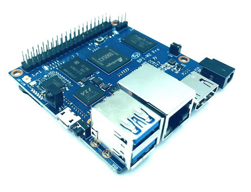 Meet BPI-M2 Pro SBC — A More Compact Amlogic S905X3 SBC From Banana Pi