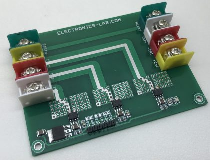 3 Phase Isolated Hall-effect Current Sense Amplifier with +/-600V Working Voltage and +/-46A Measurement Range