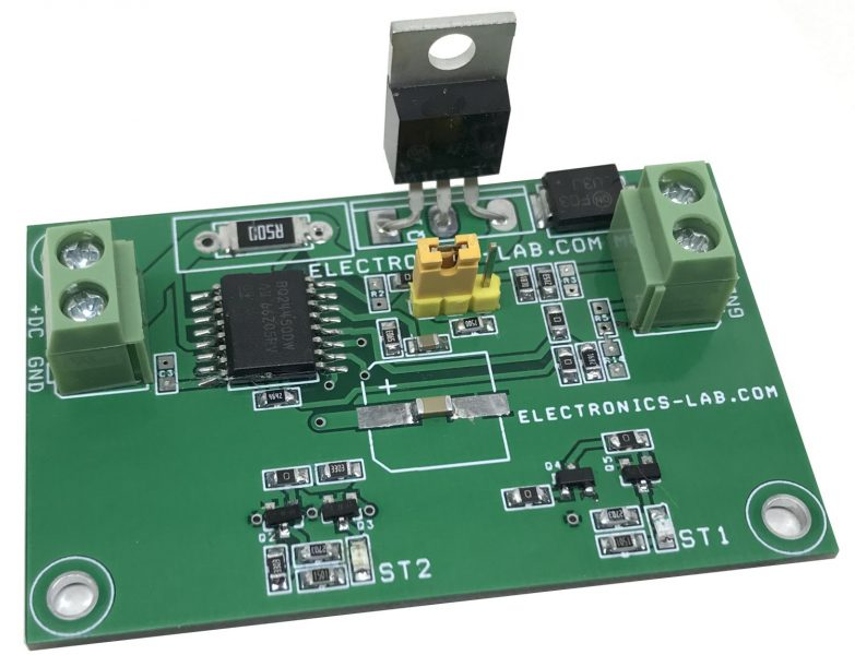 Dual-Level Float-Cum-Boost Charger with Pre-Charge for 12V – 3 to 6Ah Sealed Lead Acid (SLA) Batteries