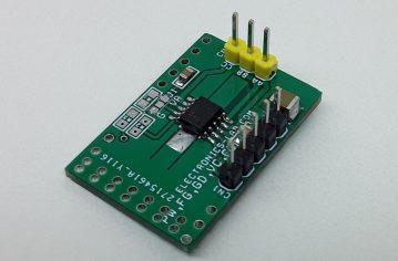 Sensorless FOC 3 Phase Low Power Brushless BLDC Motor Driver