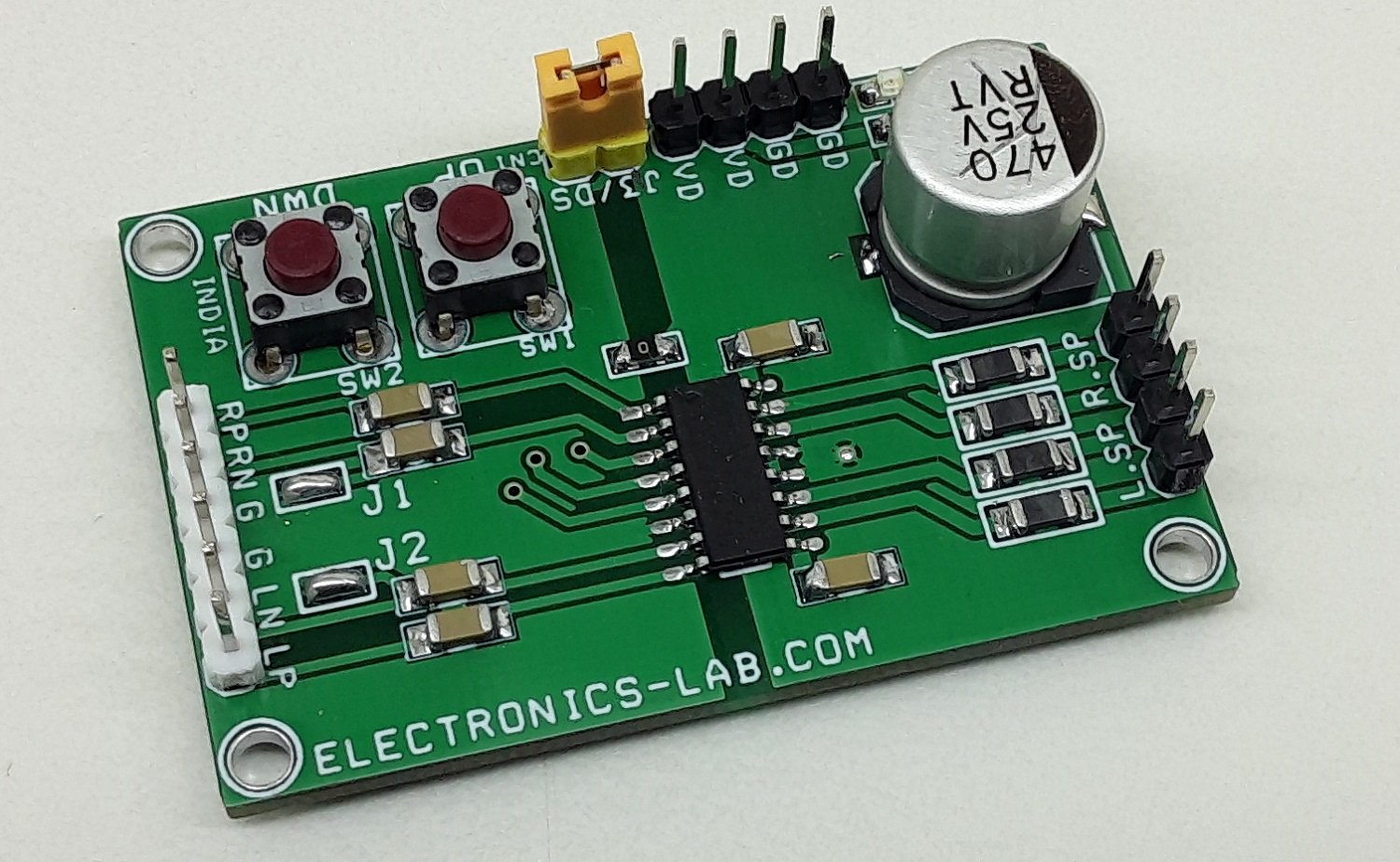 3W Stereo Differential Input CLASS-D Audio Amplifier with UP/DOWN Volume