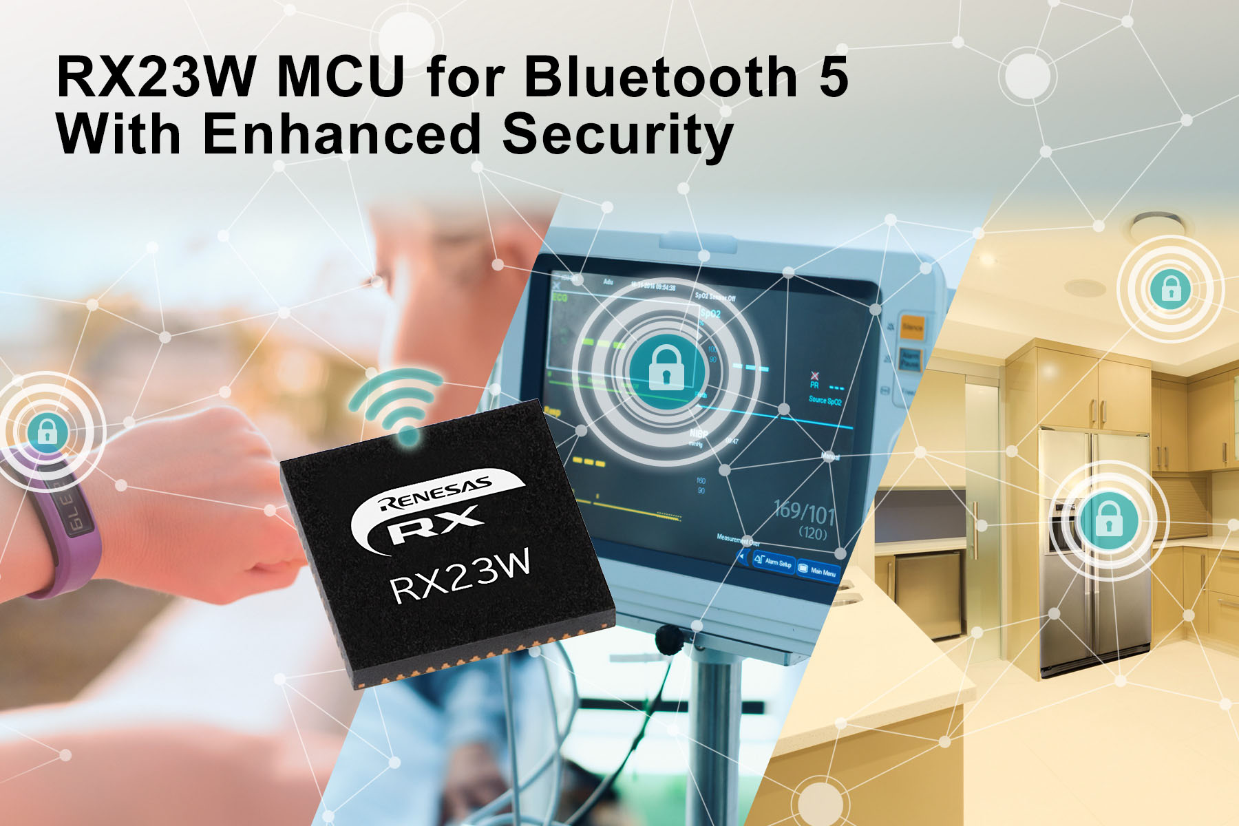 Renesas releases RX23W module with Bluetooth for system control and wireless communication on IoT devices