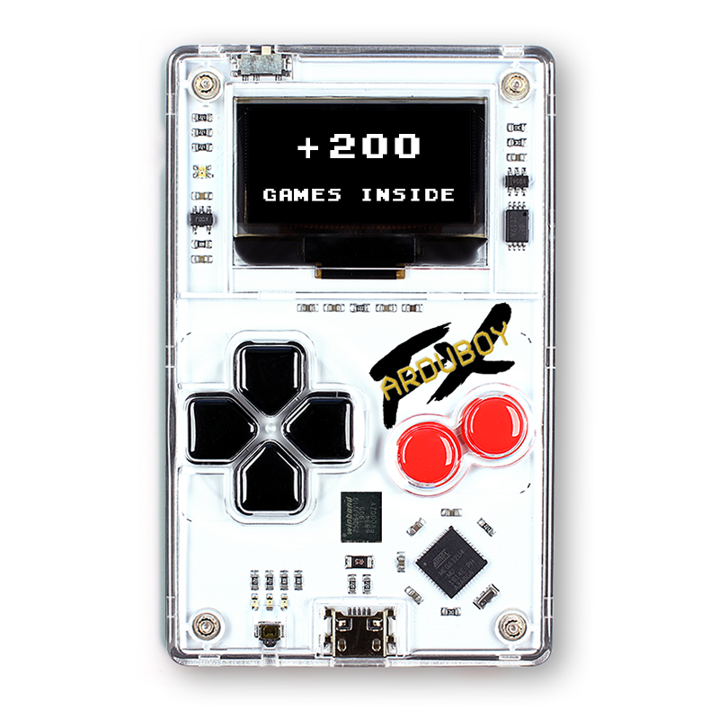 Its Time To Upgrade To Arduboy FX RetroTech Gaming Console