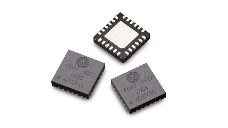 Broadcom AEAT-9922 10-Bit to 18-Bit programmable magnetic encoder