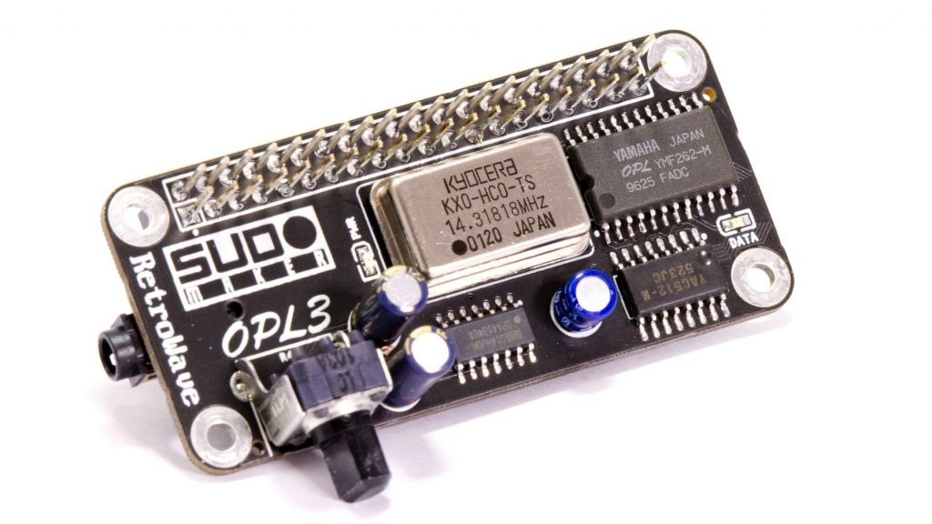 Turn Your Raspberry Pi into a Retro Music Player Using a RetroWave OPL3 Sound Card