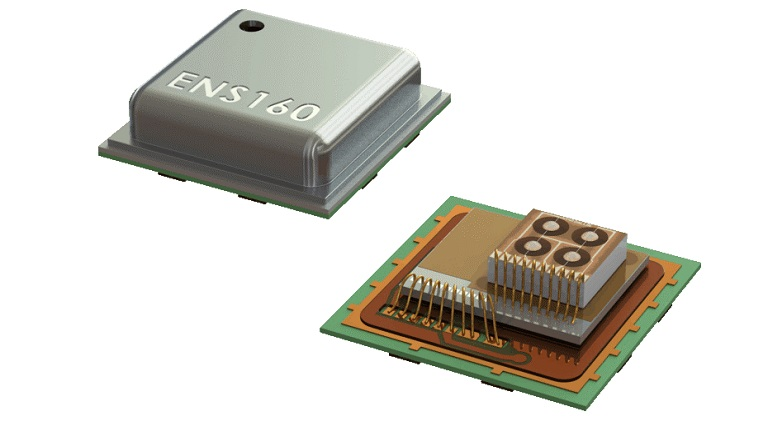 ENS160 is a digital multi-gas sensor specifically designed for indoor air quality monitoring