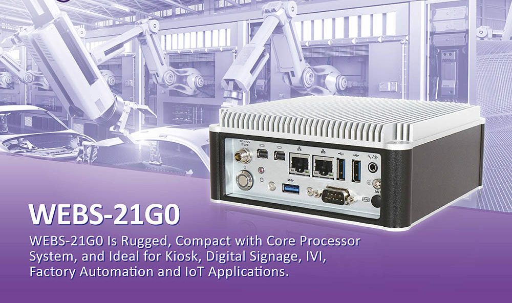 Portwell Releases a Small and Compact Fanless Embedded System with 8th Generation Intel® Core™ Processor