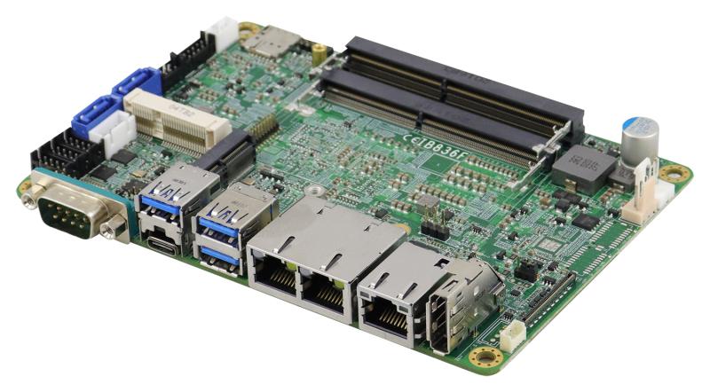 SBC powered by Intel Atomä x6000 Series processors