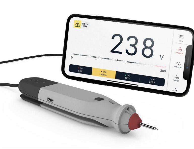 Pokit Pro is World's Smallest Wireless Multimeter, Oscilloscope, and Logger