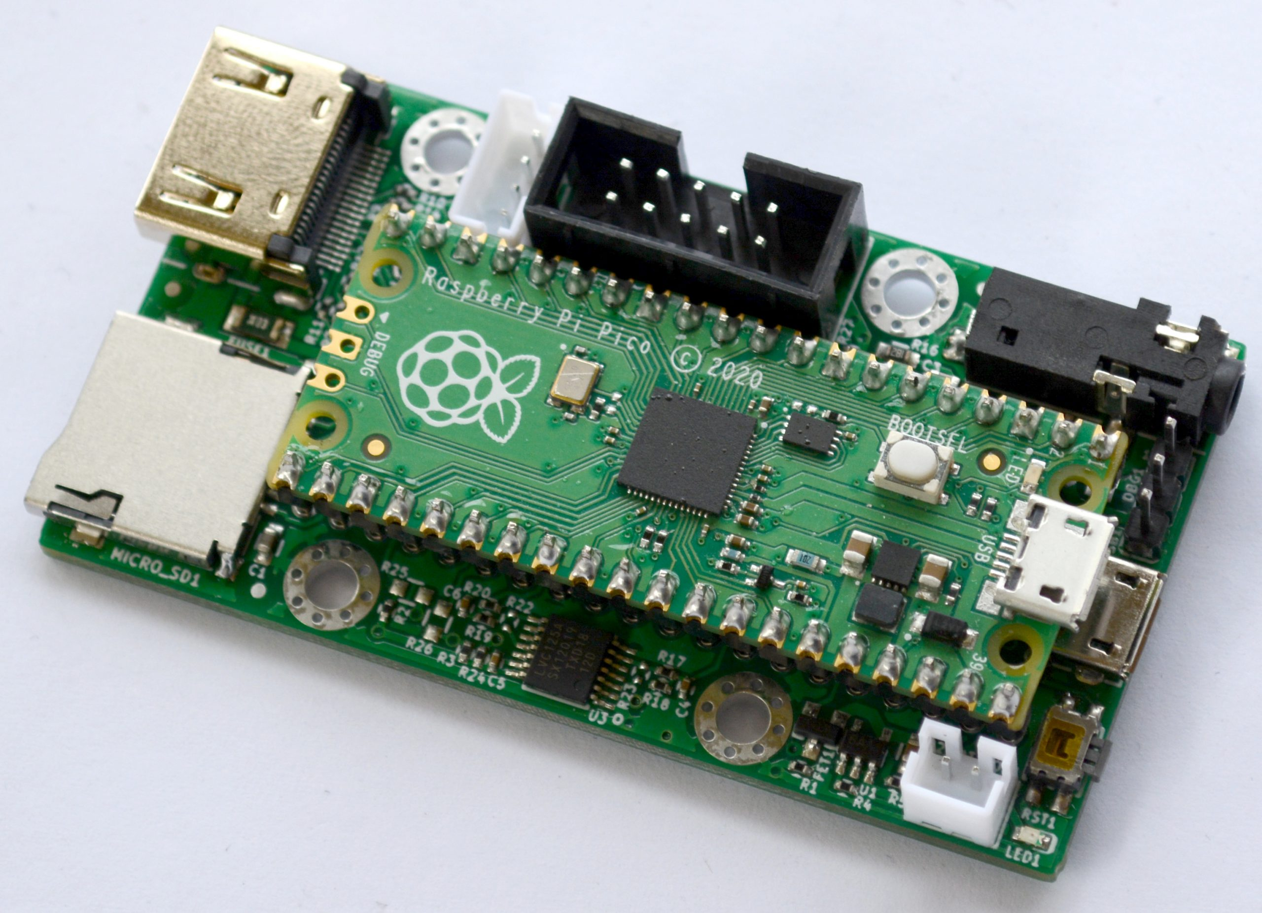 Olimex RP2040-PICO-PC Computer Made with RP2040-Py module compatible with Raspberry Pi Pico