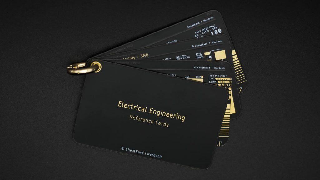 This CheatKard Lets Electrical Engineers Increase Their Efficiency At Work