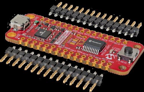 EV26Q64A PIC18F16Q41 Curiosity Nano Evaluation Kit