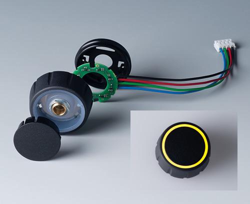 OKW's New CONTROL-KNOBS With Optional LED Illumination