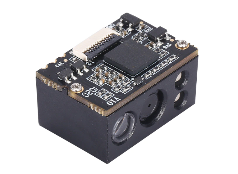 2D CMOS PDF417 customized mini-size auto-sensing embodied barcode scanner module