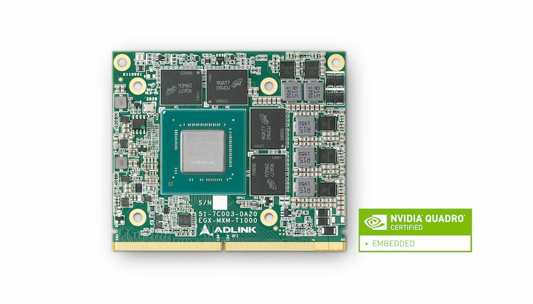 ADLINK Releases Industry-first Embedded MXM Graphics Modules on NVIDIA Turing™ Architecture