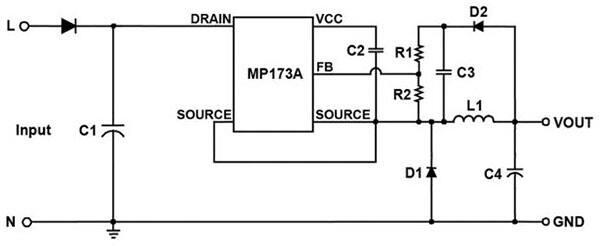 MP17xA Non-Isolated Offline Regulators