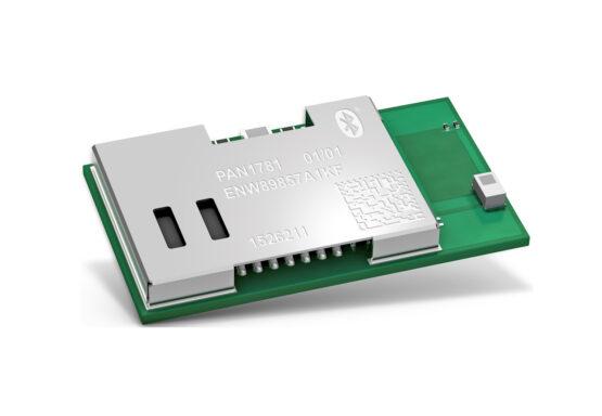 The new Panasonic Industry PAN1781 Bluetooth 5 Low Energy module