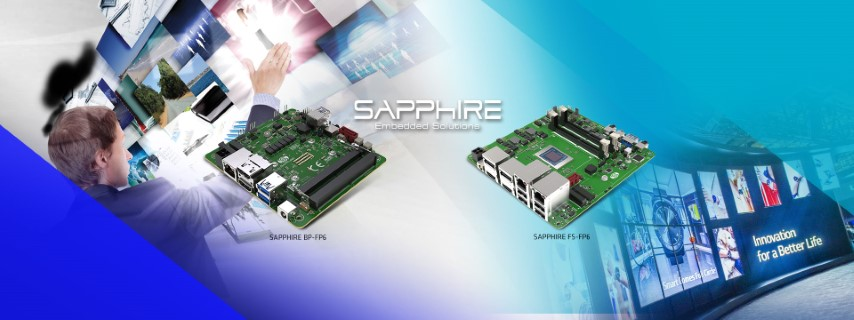 SAPPHIRE Launches Two Ryzen V2000 based SBCs