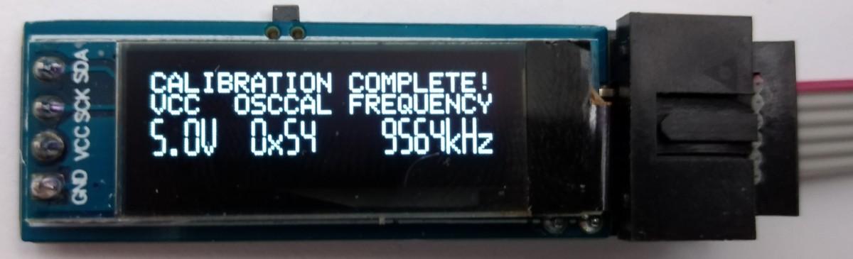 TinyICOC – AVR In-Circuit Oscillator Calibrator