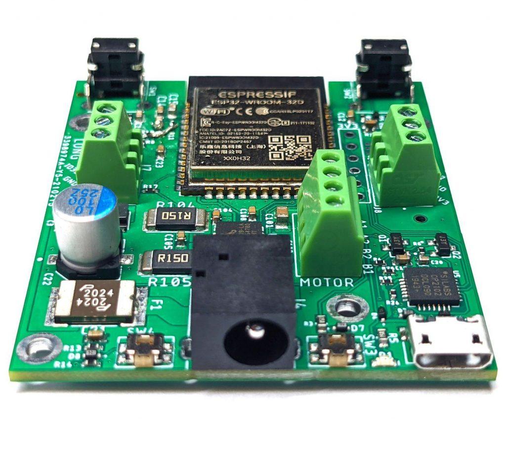USB port of WiFi Stepper Motor Board