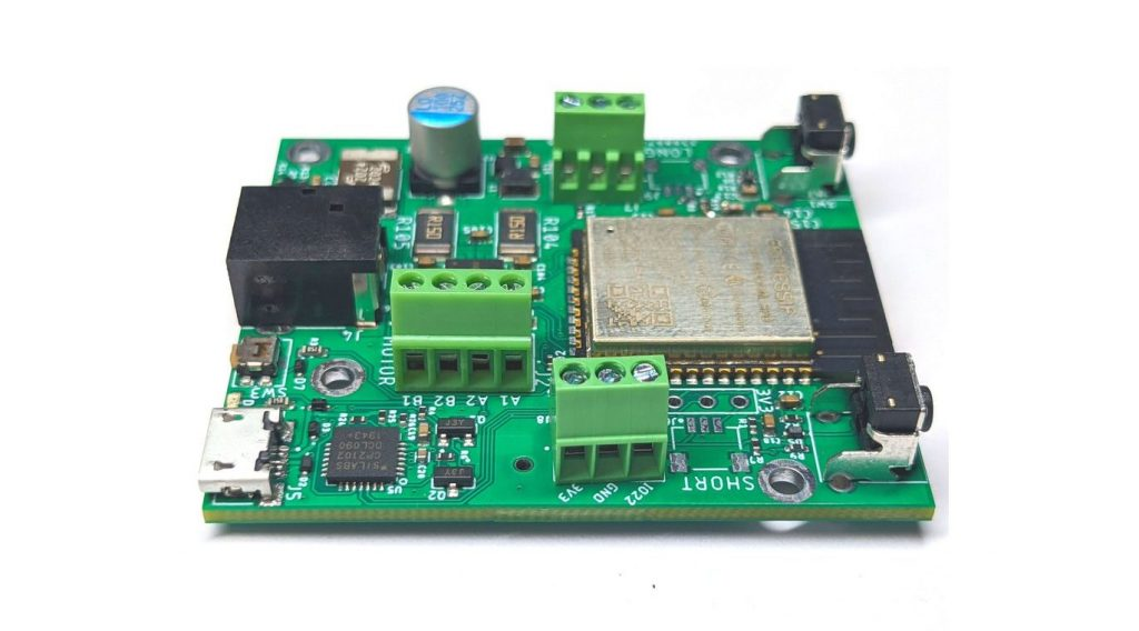 Valar Systems' WiFi Stepper Motor Board with StallGuard Technology