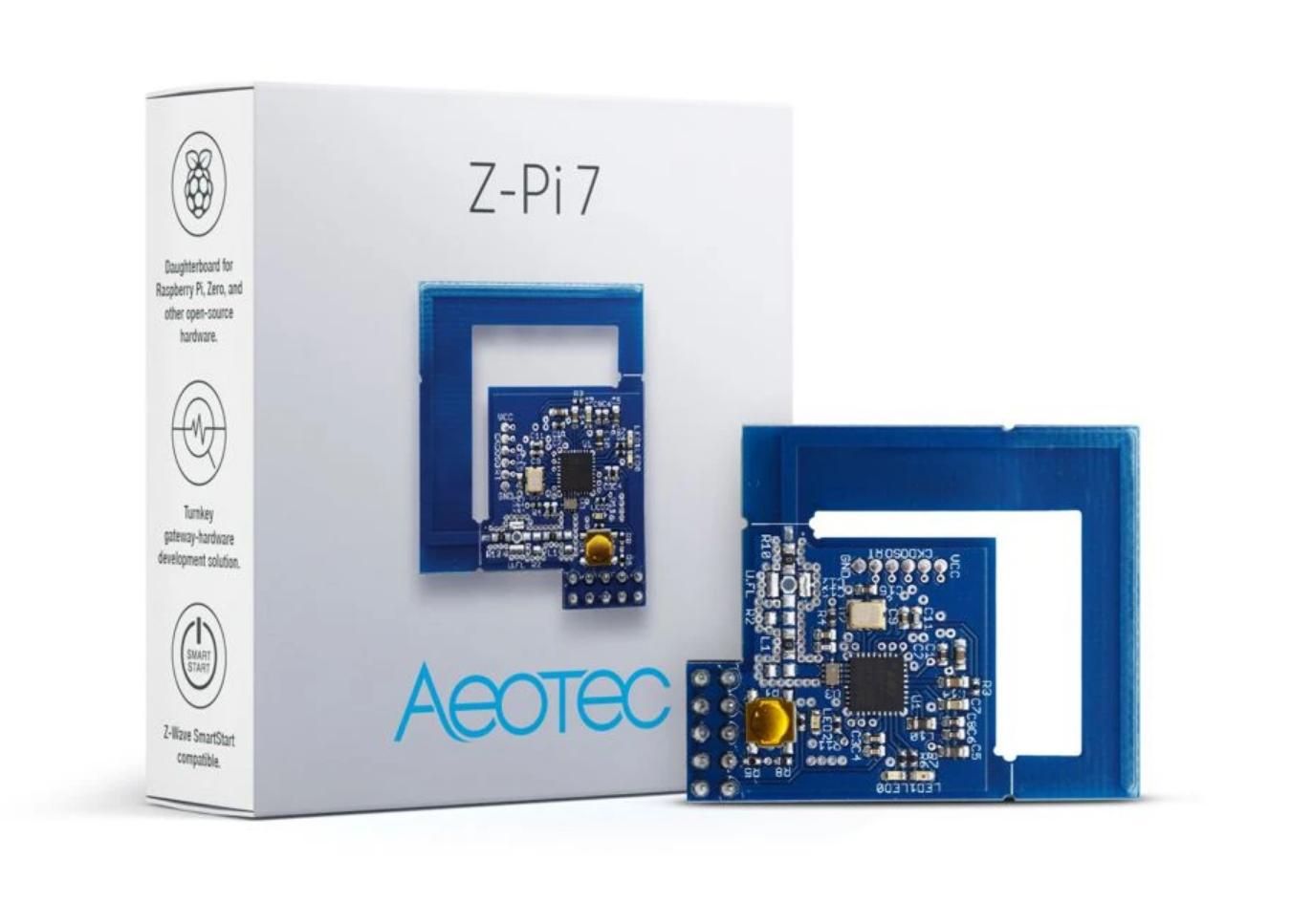 Aeotec's Z-Pi 7 Z-Wave gateway module for your Raspberry Pi