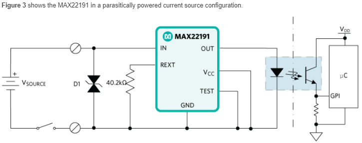 Industrial digital inputs with the MAX22191