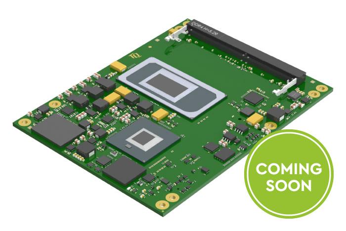 TQ presents new COM Express Basic Module TQMx110EB with 11th generation Intel Core processors