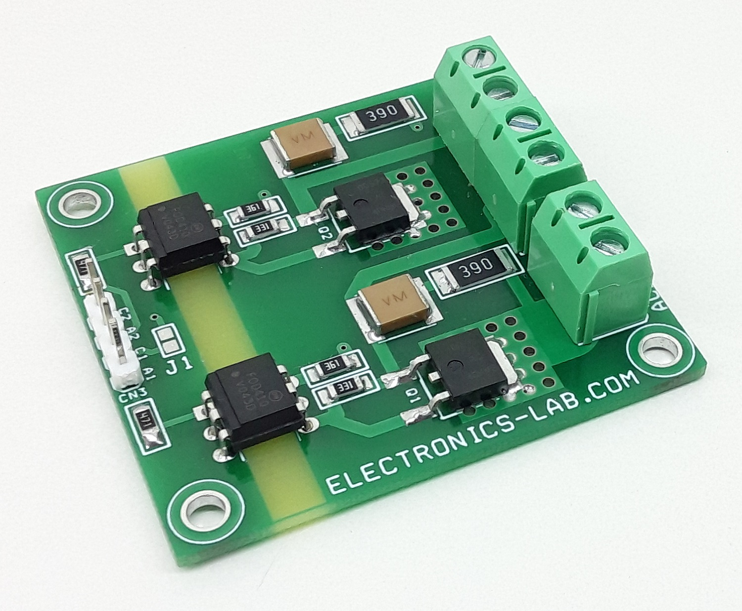 Low Profile 2 Channel Solid State Relay for AC Loads