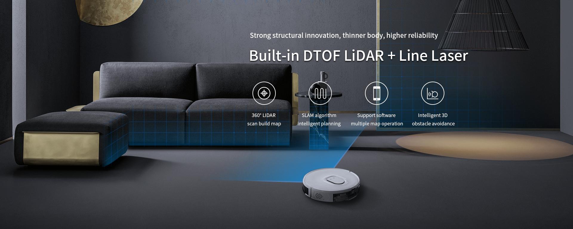 LD-AIR LiDAR | 360° TOF Sensor For All Robotic Applications