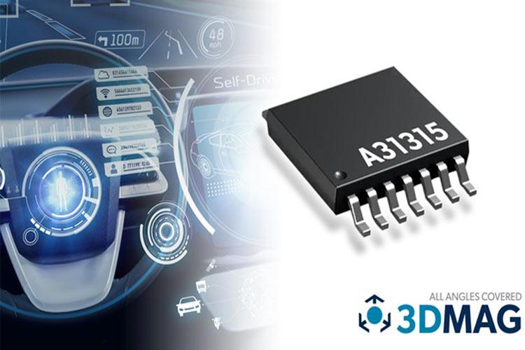 A31315 3D Magnetic Position Sensors
