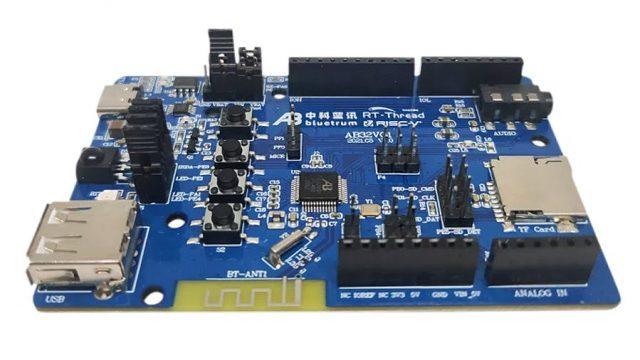 Arduino UNO-like AB32VG1 Development Board based on RISC-V MCU