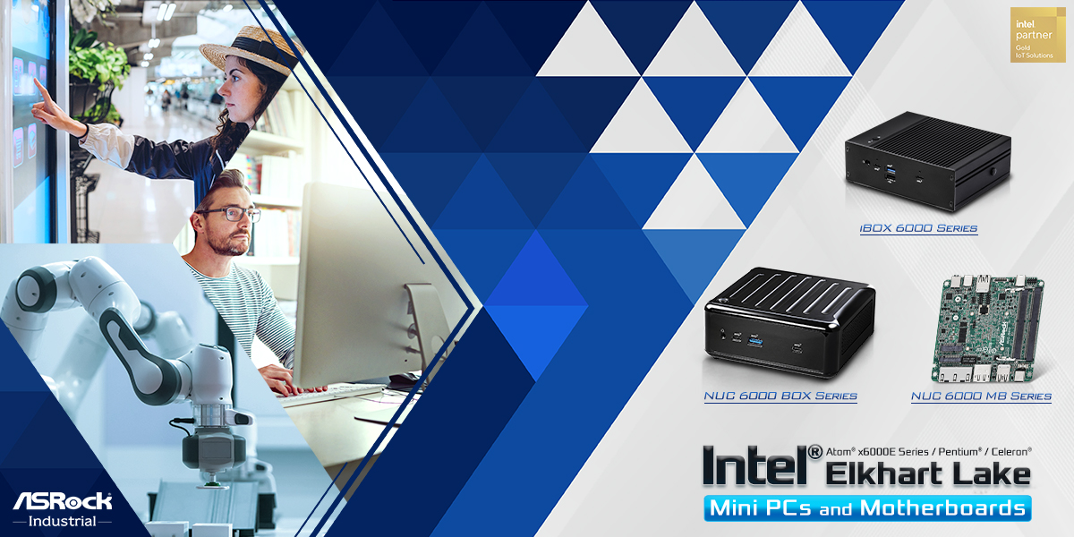 ASRock Industrial Unveils NUC 6000 BOX Series, iBOX 6000 Series, and NUC 6000 Motherboard Series