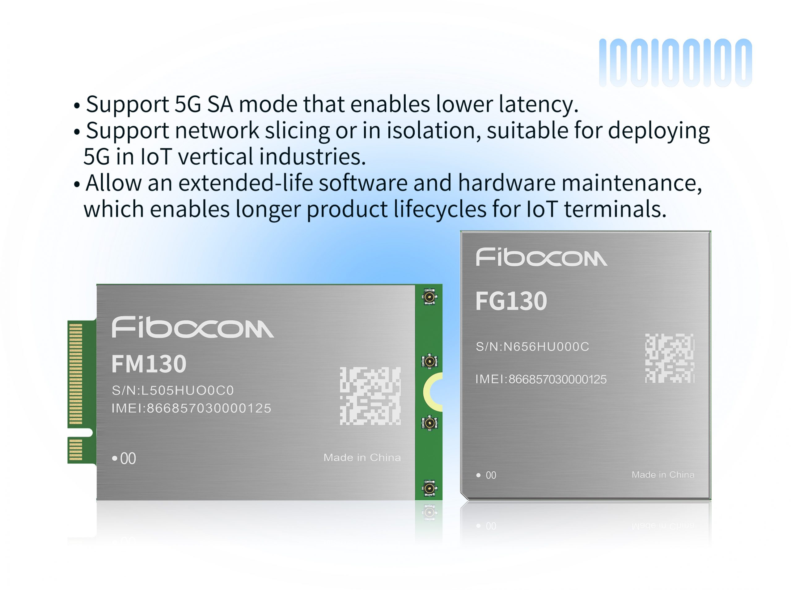 Fibocom Launches 5G Module Series FG130 and FM130 Powered by Qualcomm 315 5G IoT Modem in MWC 2021