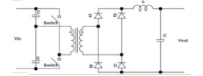 Half-Bridge Switched Mode Power Supply Topology