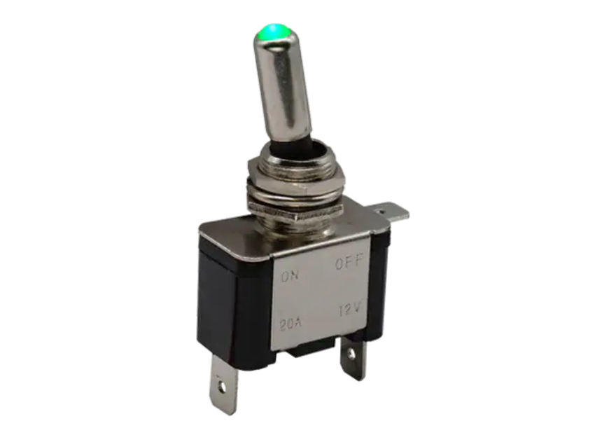 C&K Switches ILT Illuminated Toggle Switches