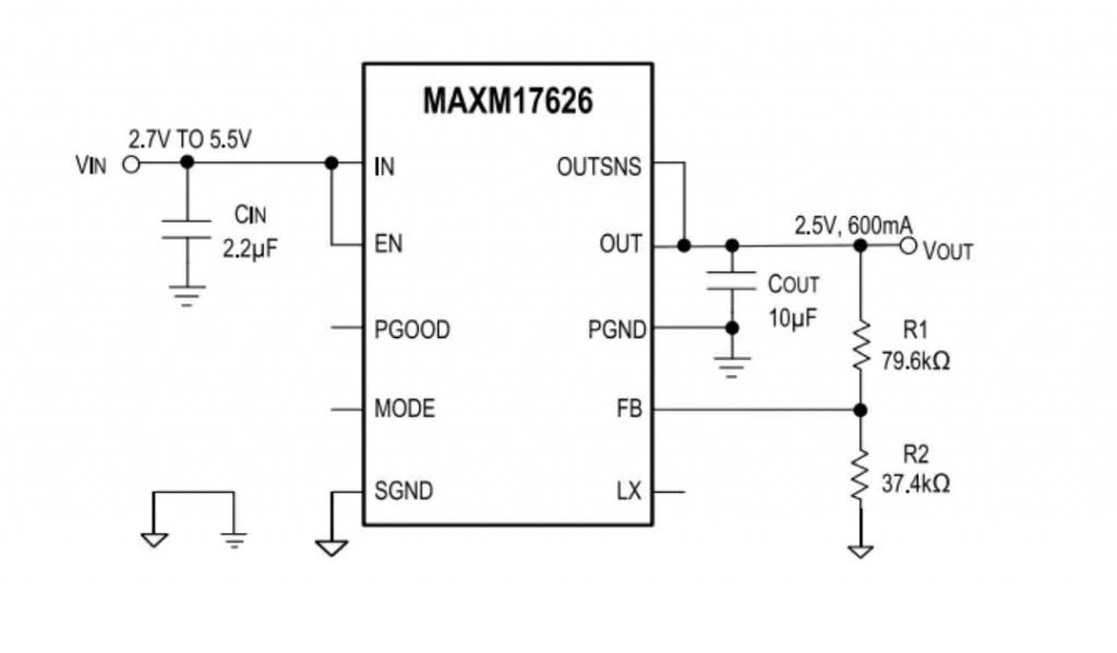 Maxim Integrated MAXM17625/MAXM17626 uSLIC™ Step-Down Power Modules