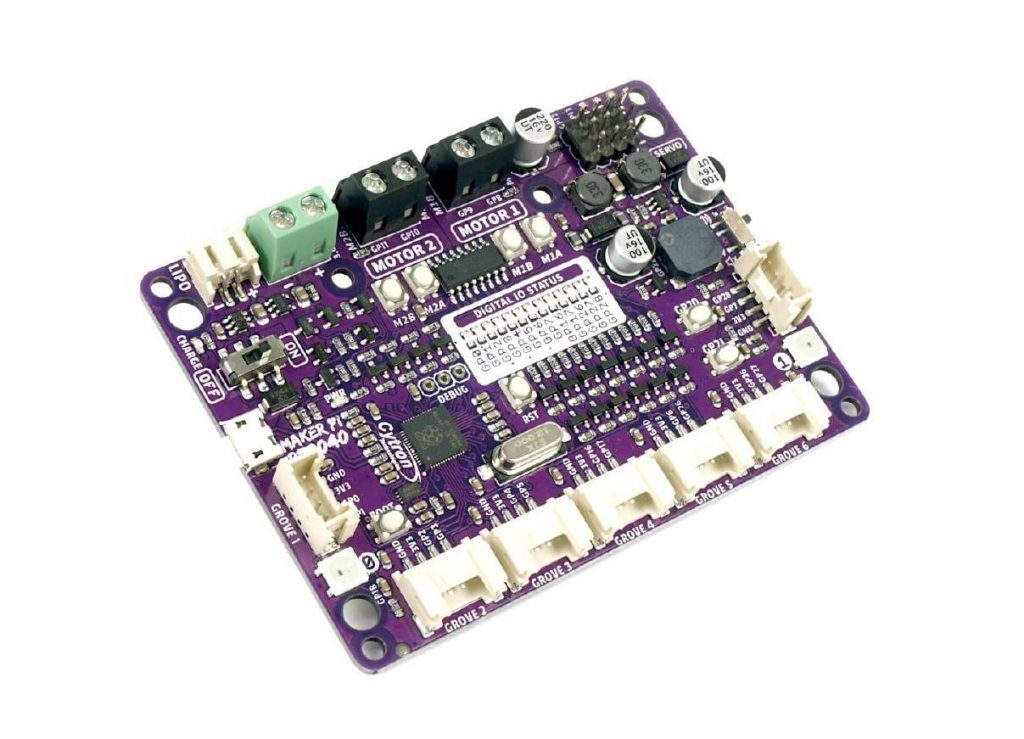 Maker Pi RP2040 Robot Controller Board for Motion Control Projects