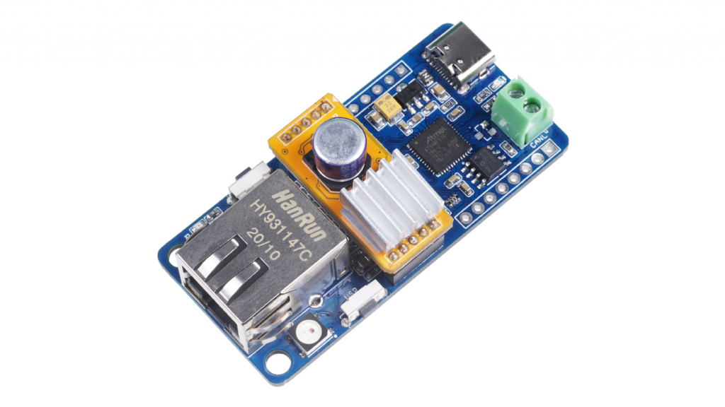 Meet Longon Labs' Squama CAN FD to Ethernet board with Power-over-Ethernet