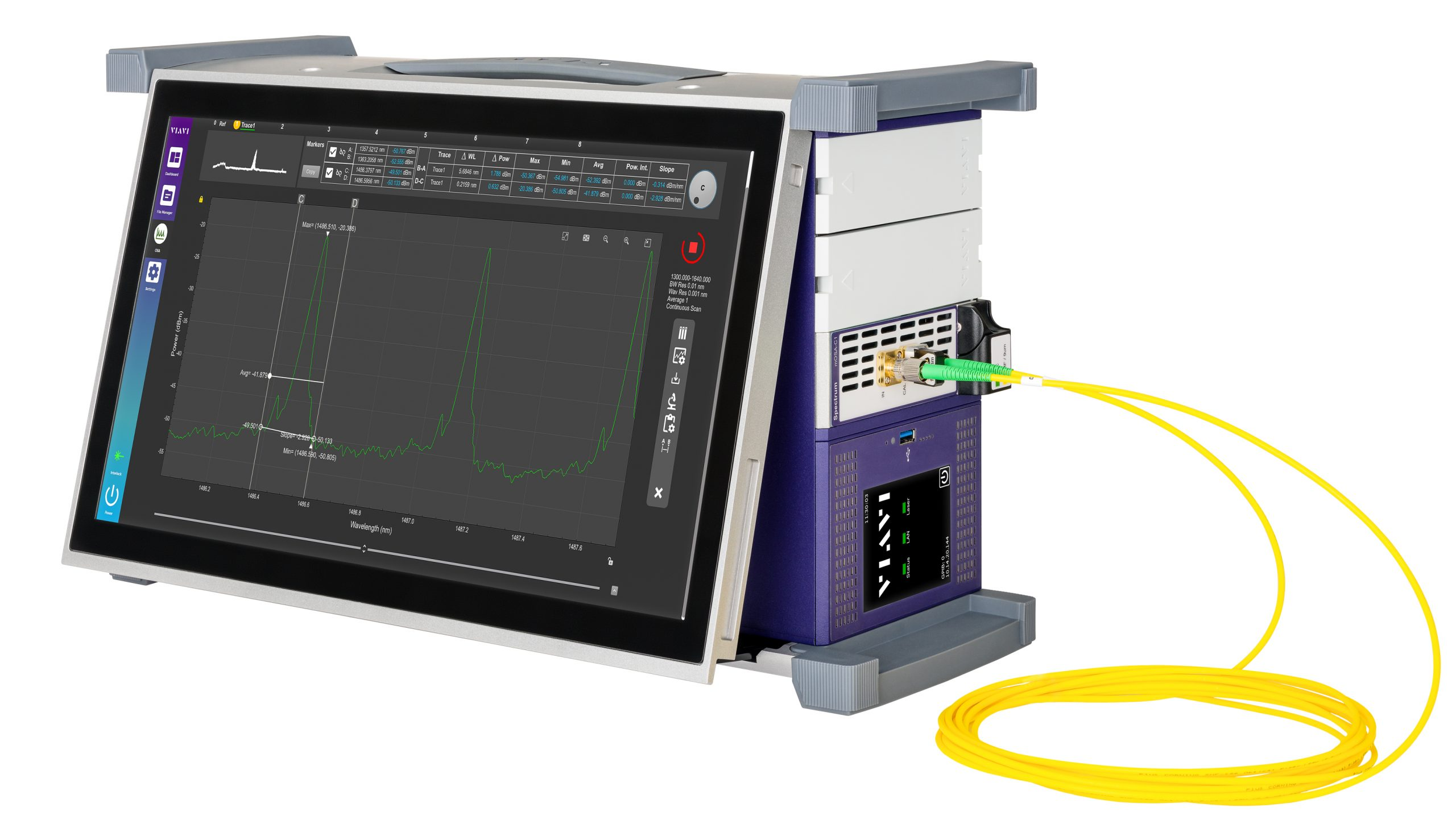 VIAVI Reveals mOSA Optical Spectrum Analysis Module, Enhancing Trusted Test Portfolio for Lab and Manufacturing