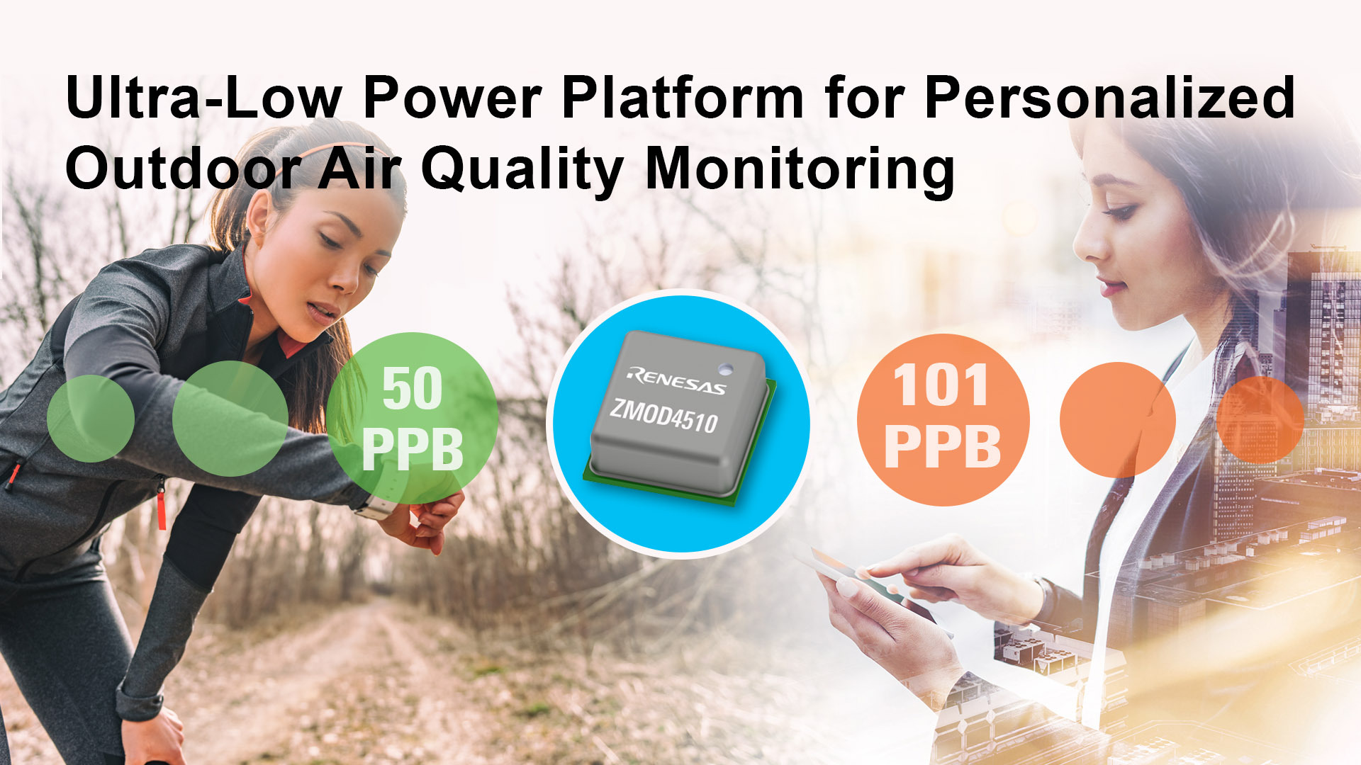 Renesas releases ultra-low power outdoor air quality sensor platform to unlock personalized air quality experience